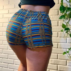 Urban outfitters rainbow shorts